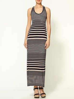 Red Carter Loveappella Mixed Stripe Maxi