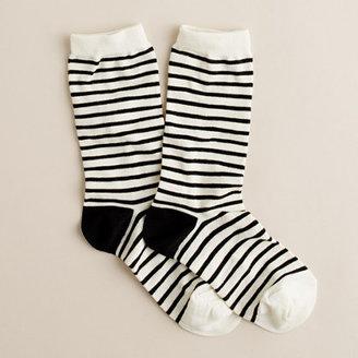 J.Crew Skinny stripe socks