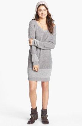 Rubbish V-Neck Sweater Dress (Juniors)