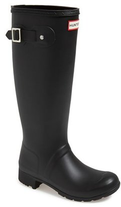 Women's Hunter 'Tour' Packable Rain Boot $150 thestylecure.com