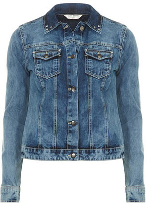 Dorothy Perkins Midwash diamante denim jacket