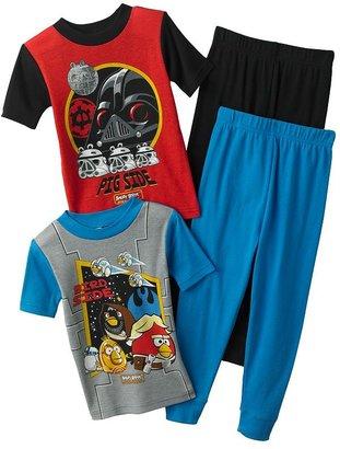 Star Wars Angry birds good bad 4-pc. pajama set - boys 4-12
