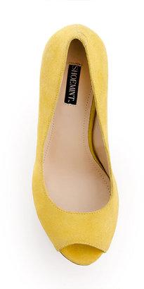 ShoeMint Courtney Wedge Citron