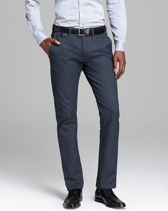 Paul Smith Slim Fit Cotton Trousers