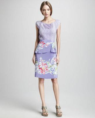 Nanette Lepore Soiree Floral-Print Skirt