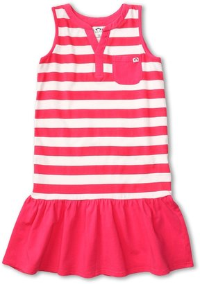 Appaman Kids - Girls' Drop Waist Super Soft Elizabeth Dress (Toddler/Little Kids/Big Kids) (Valentine) - Apparel