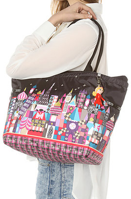 Le Sport Sac The Disney x Picture Tote Bag With Charm in Midnight Harmony