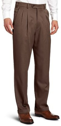 Geoffrey Beene Men's Perfect All Performance Comfort Waist Pleated Dress Pant
