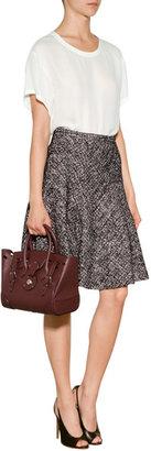 Etro Cotton-Linen Blend Boucle Skirt