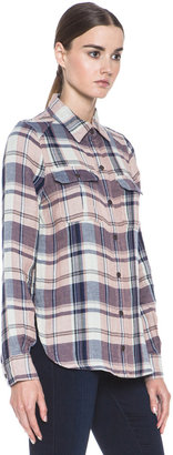 Paige Kadie Cotton Shirt in First Kiss
