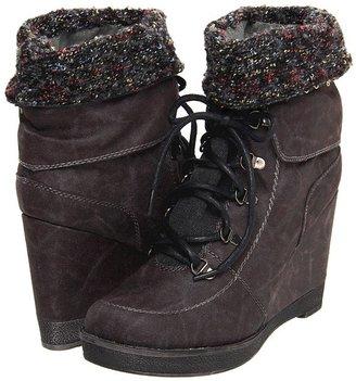 Big Buddha Foxy (Black Distress) - Footwear