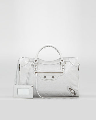 Balenciaga Classic City Bag, Gris Ciment