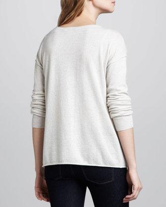 Autumn Cashmere Peace-Sign Cashmere Sweater