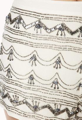 Forever 21 Vintage-Inspired High-Waisted Shorts