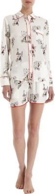 Isabella Collection Piamita City Tour Pajama Shirt