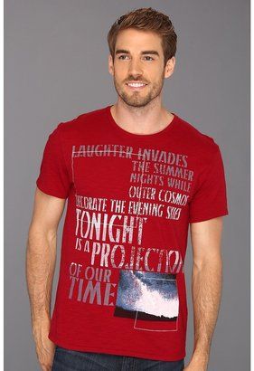 Calvin Klein Jeans Cosmos S/S Tee (Chili Pepper) - Apparel