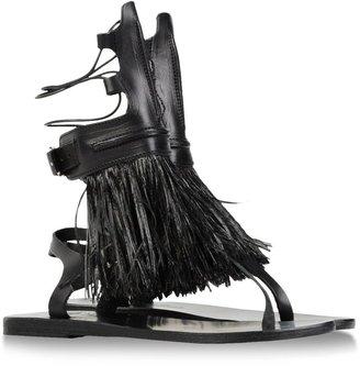 Marios Schwab ANCIENT GREEK SANDALS & Sandals