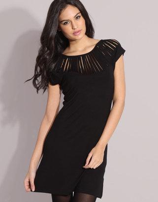 Vila Slash Shoulder Dress