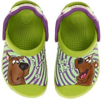 Crocs SS13 CC Scooby-Doo Clog (Toddler/Little Kid) (Volt Green/Dahlia) - Footwear
