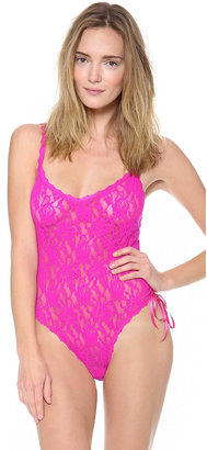 Hanky Panky Signature Lace Thong Teddy