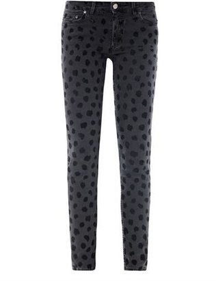 Acne Skin 5 lynx mid-rise skinny jeans
