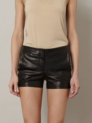 Alexander Wang Leather shorts
