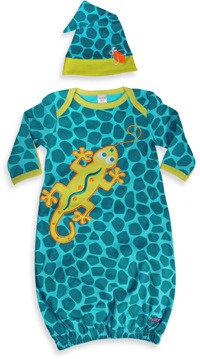 Sozo Gecko Gown and Cap Set