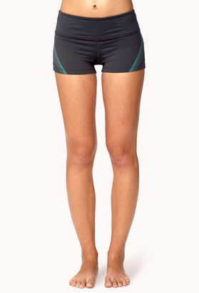 Forever 21 Reflective Workout Shorts
