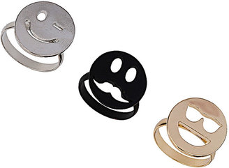 Topshop Emotions Ring Pack