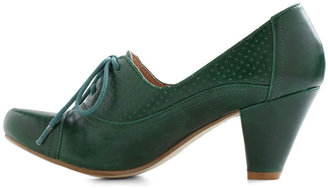 Right Here Heel in Green