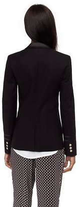 Glam Rock Double Cloth Seamed Blazer