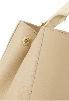 Tory Burch Robinson mini textured-leather tote