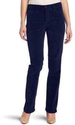 NYDJ Women's Petite Marilyn Cord Straight Leg Jean