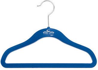Clos-ette Too S/20 Skinny Baby Hangers, Blue