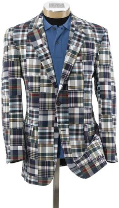 Jos. A. Bank Patchwork Madras 2-Button Sportcoat