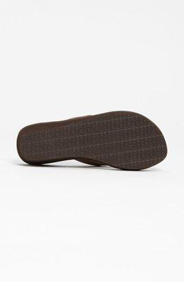 Sanuk 'Yoga Mat' Wedge Flip Flop (Women)