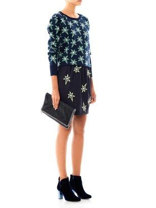 Emma Cook Star embroidered skirt