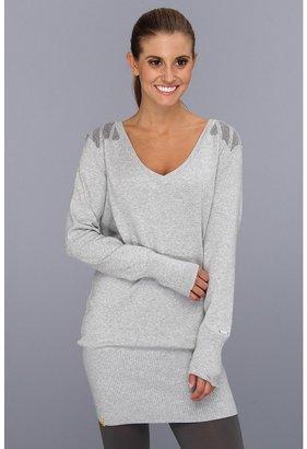 Lole Veronica L/S Tunic (Light Grey Heather) - Apparel