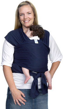 Moby Wrap Originals Baby Carrier - Navy