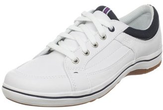 Keds Women's Startup LTT Leather Lace-Up Fashion Sneaker