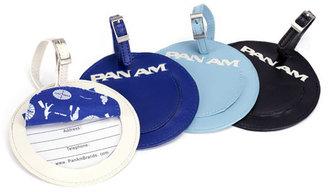 Pan Am Luggage Tag White