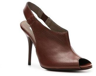 Calvin Klein Collection Kody Leather Slingback Pump