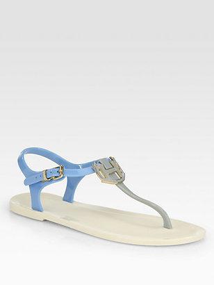 Hunter Highcliffe Bicolor Thong Sandals