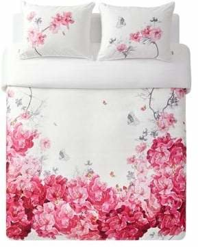 Ted Baker Floral Cotton 3-Piece Duvet Set