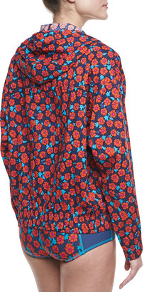 Marc by Marc Jacobs Maysie Floral-Print Coverup Jacket