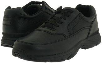Rockport Prowalker Walking Shoe (Black Leather) - Footwear