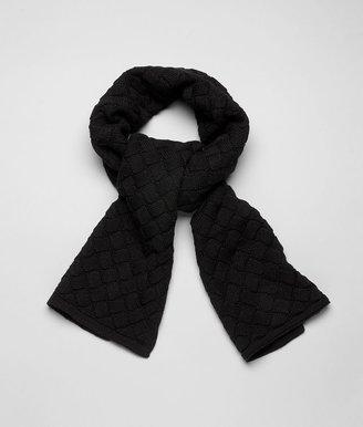 Bottega Veneta Black wool scarf