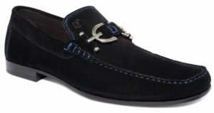 Donald J Pliner Dacio Suede Bit Loafer Men's Shoes