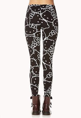 Forever 21 Hello Kitty® Leggings