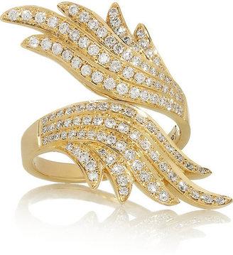 Anita Ko Wing 18-karat gold diamond ring